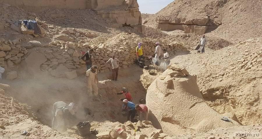 Дед Тутанхамона создал сфинкса с головой барана