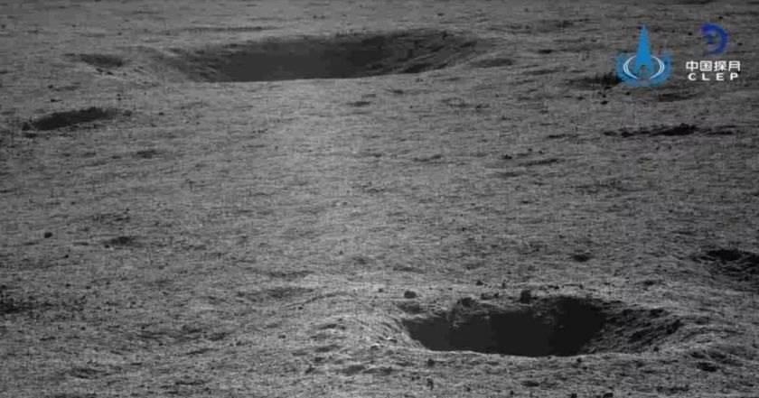 Китайский луноход сделал новые снимки обратной стороны Луны