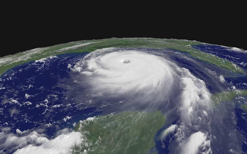 Катрина —ставший легендарным ураган пятой категории