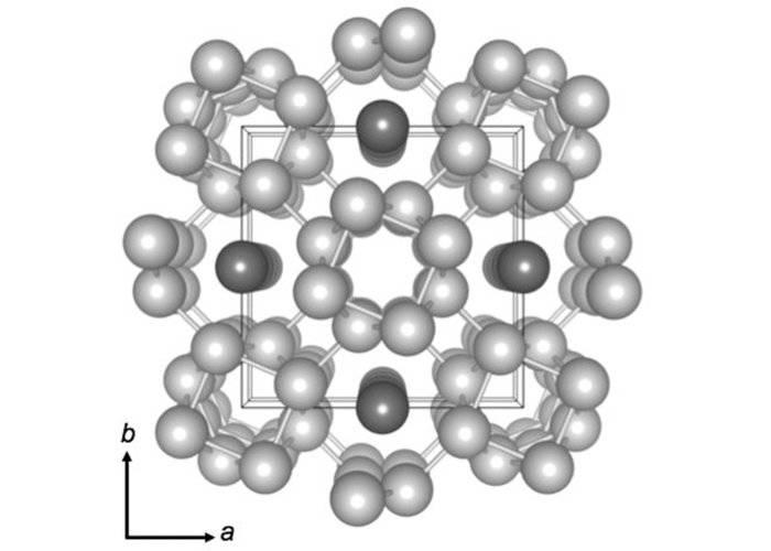 Схема организации калия впереходном состоянии