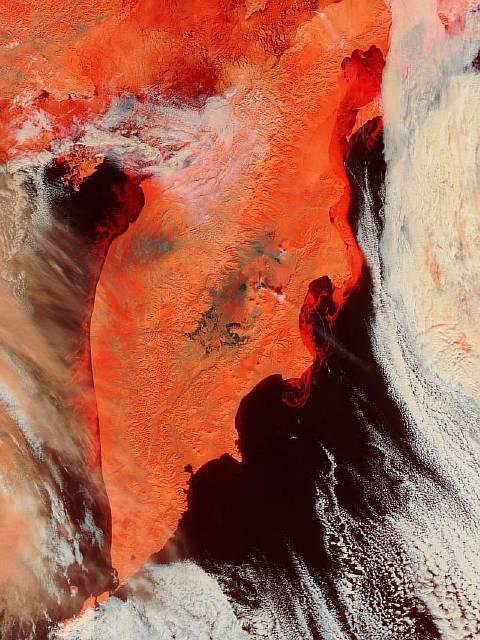 Как «работают» вулканы Камчатки