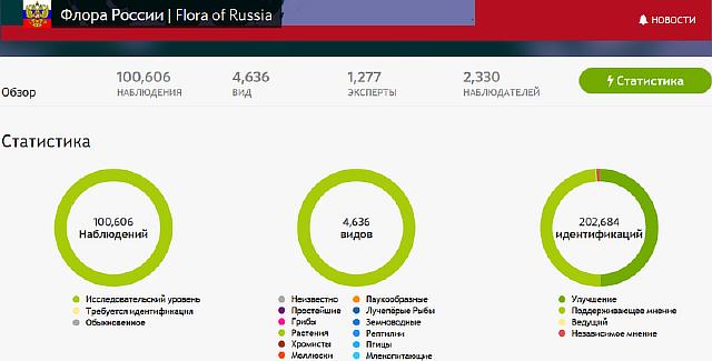 100 000 фотографий собрал всероссийский «народный» гербарий