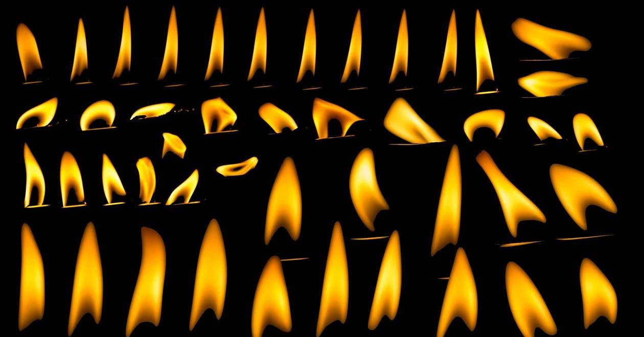 Почему, когда свеча гаснет, от фитиля идет густой дымок?