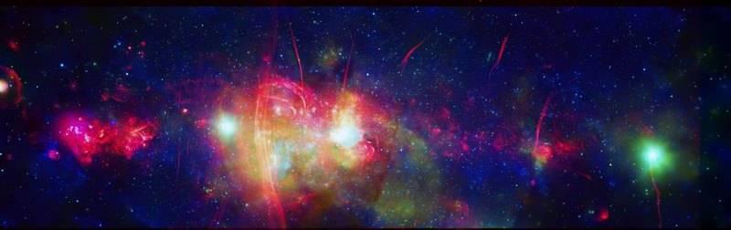 Изображение центрального региона Млечного Пути