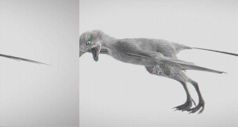 Рукастый ящер