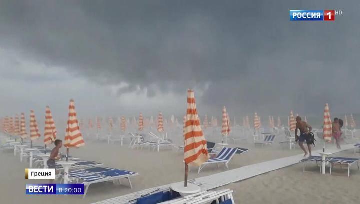 Южную Европу накрыл сильнейший циклон