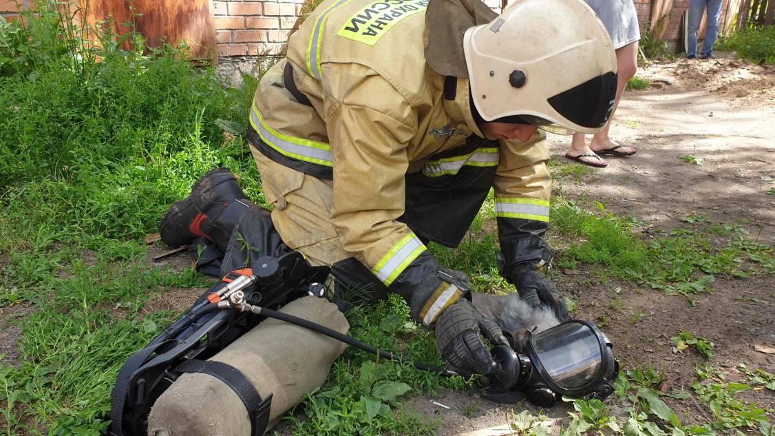 Томские спасатели реанимировали пострадавшего в пожаре кота